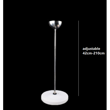 Miniis Extendable Metal Stand Balloon Column For 18 Inch 24 Inch 36 Inch Balloons Pseudo Air Floating Helium KT Board Stand