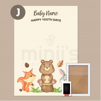 Miniis A4 Wooden Photo Frame Natural Wood Textured Brown White Frame For Decoration Wall Tabletop Display