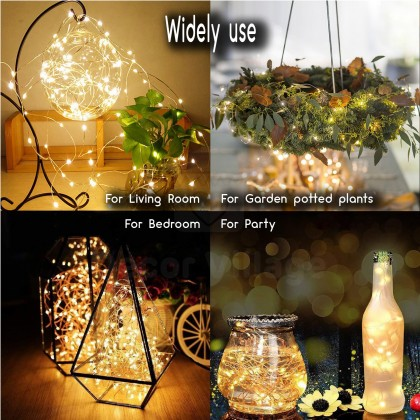 Minii's Power-saving Eco-friendly1M LED  2M  LED  3M LED Battery Copper Cable Wire Mini Fairy String