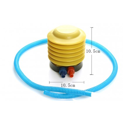Balloons Pump Eco-friendly Plastic Inflatable Foot Pump Double Mouth Toys Ballons Inflator Foot Pump/ Hand pump