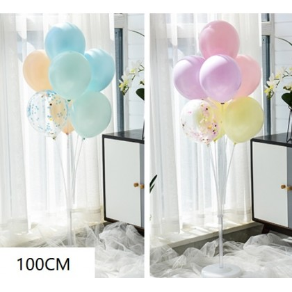 100/130/160cm  7 in 1 Plastic Balloon Base  Plastic Balloons Stand Holder Stick Stand WITHOUT HELIUM GAS