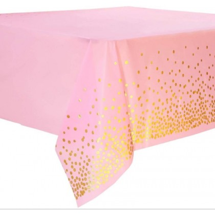 137*274 cm Square Disposable Print Disposable Tablecloth Birthday Weddings Party Picnic Decorative Tablecover,